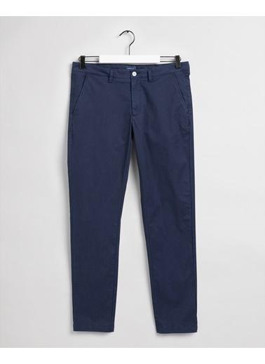 Gant Erkek Slim Fit Pantolon Mavi
